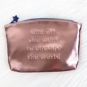 Ipsy Rose Gold Pouch